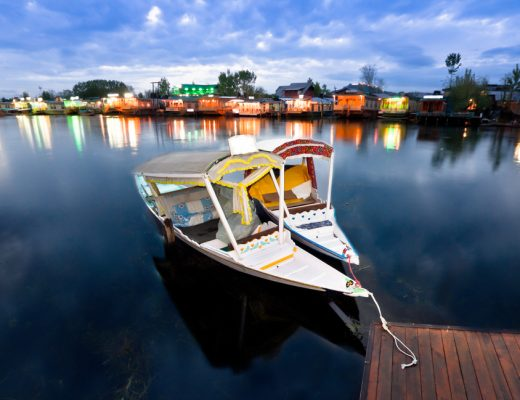 An evening in Dal Lake
