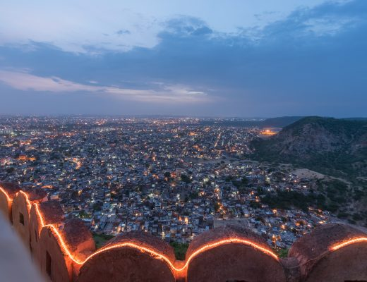 View of city from Nahargarh 2